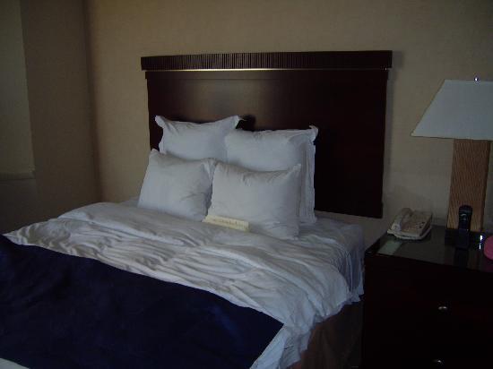 Marriott St. Louis Airport: Marriott St Louis bed