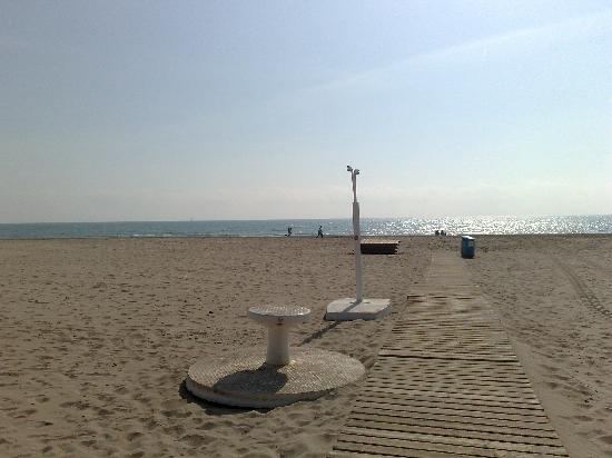 Canet d'En Berenguer, España: NICE BEACH WITH BLUE FLAG