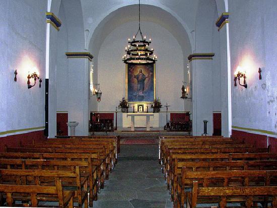 San Antonio Missions National Historical Park: Interior Mission Concepcion