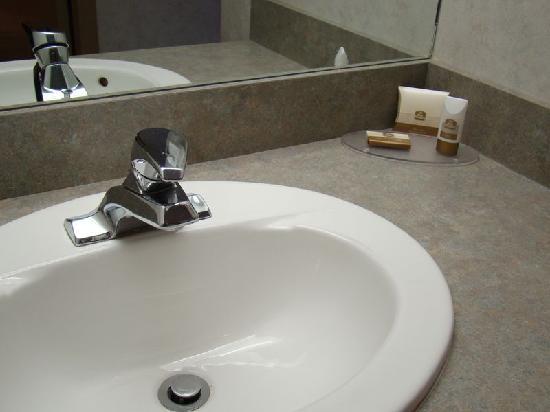 BEST WESTERN PLUS Suites Downtown: Salle de bains propre avec quelques produits offerts