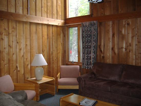 Cumberland Mountain State Park Cabins Campground: living room
