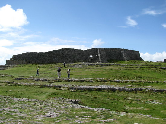 Inishmore, Ierland: the stone fort