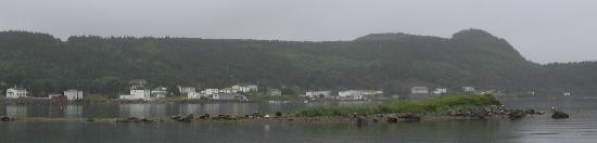 Fox Harbour in rain