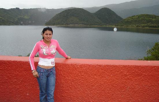 Hacienda- Hosteria Chorlavi: En el lago Cuicocha