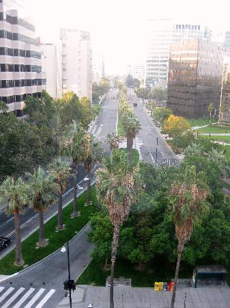 Hotel De Anza: View from room