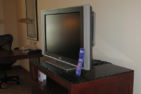 Hilton Garden Inn Jackson/Pearl : Flat screen TV