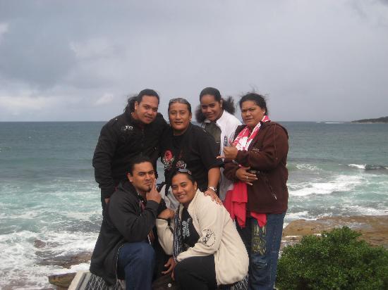 Cronulla Beach YHA: kelkes uns de notre groupe_dont moi y compris