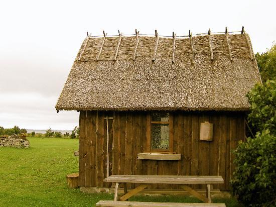 Abruka, เอสโตเนีย: Boatshed house