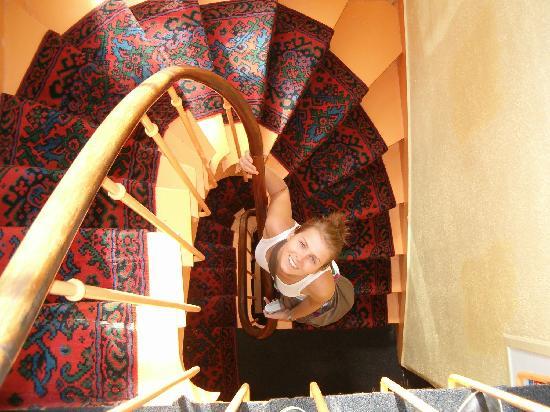 Stairway - 6th floor - Hotel Printemps
