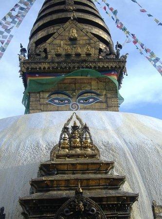 Katmandu, Nepal: Monkey temple, nepal.