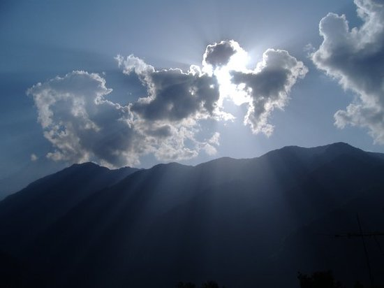 Kathmandu, Nepal: Breathtaking mountain - halfway to the top. x