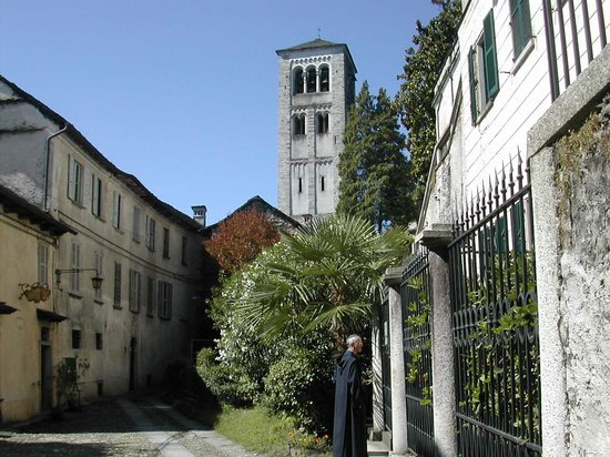 San Giulio Island: the monastery