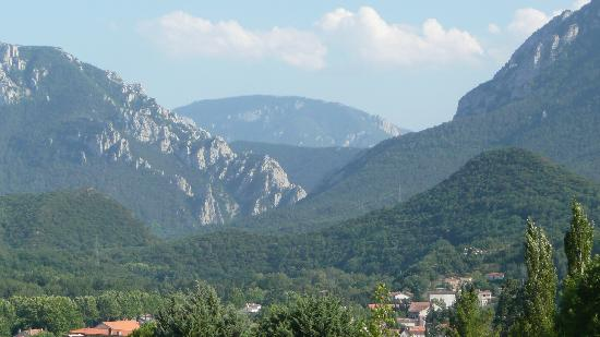 Quillan, Francia: Mountain view