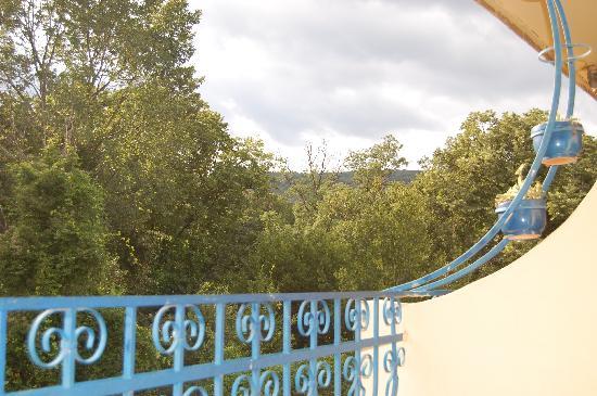 Hotel Dana Palace: view from balcony