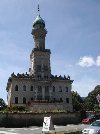 Lago d'Orta: Villa Crespi, a reproduction of an arabian villa