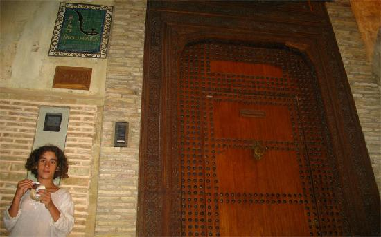 Riad Jaouhara : Main entrance
