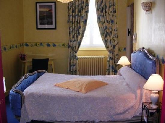 Hostellerie du Parc : une chambre du 1er étage