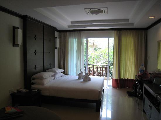 Bann Pantai Resort: vue chambre bis