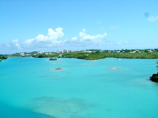Bermuda: look at that water!