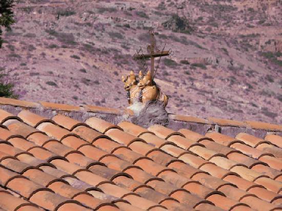 Urubamba Villas: roof