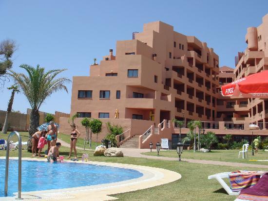 Manilva, España: Vista desde la piscina
