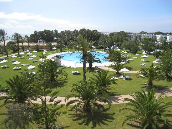 Hotel Riu Palace Oceana Hammamet: View from our balcony