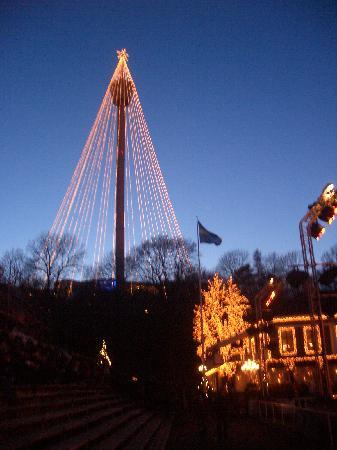 Liseberg amusement park: Lights at Liseberg