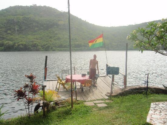 Akosombo, Ghana: view
