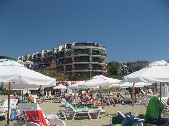 Vega Village: Vega Complex from the beach