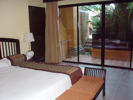 Print Kamala Resort: ground floor with King Bed