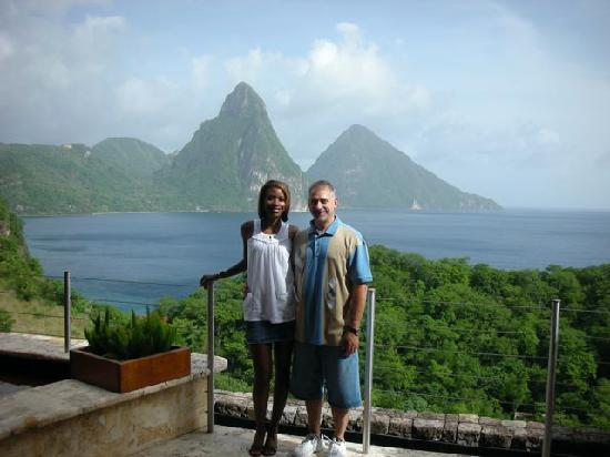Jade Mountain Resort: In our room--JD3