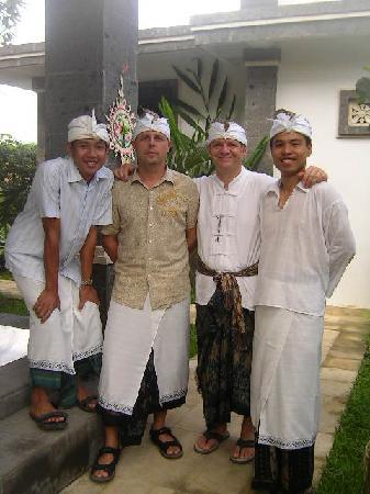 Balam Bali Villa : avec Hub, Dav & Adi