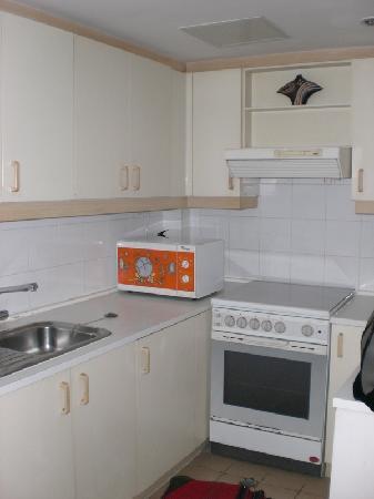 HWA (Apartment) Hotel: Kitchen