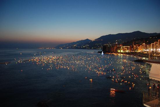Hotel Cenobio Dei Dogi: holday. candles