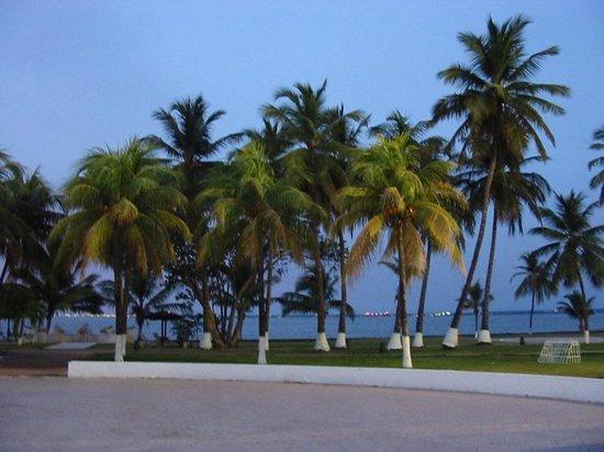 Hotel Venetur Maracaibo: 湖方向を見て