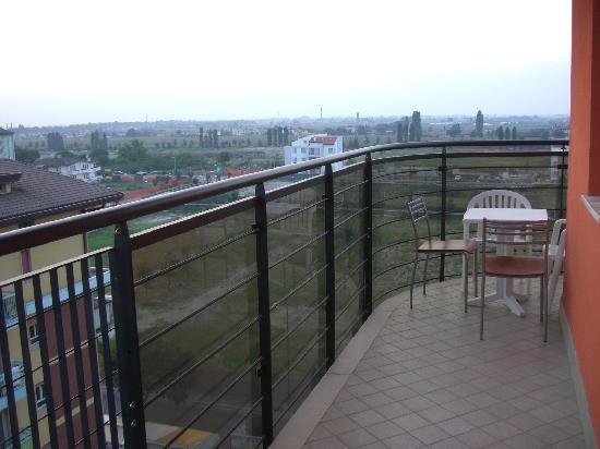 Hotel & Aparthotel Sheila: großer Balkon