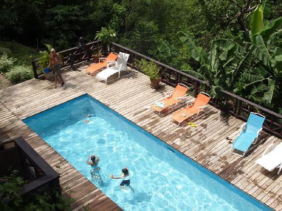 Villa Pomme d'Amour: Villa Pool