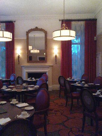 St. Pierre Marriott Hotel & Country Club: Morgan's restaurant