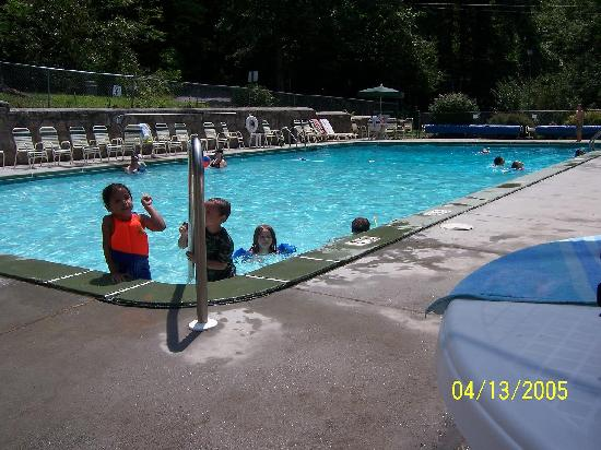 Yogi in the Smokies: pool