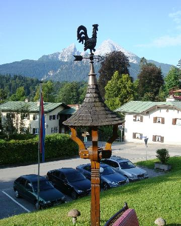 Treff Alpenhotel Kronprinz Berchtesgaden: View from Breakfast Patio