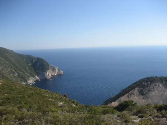 Zakynthos, Yunanistan: view from the top