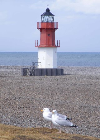 Ilha de Man, UK: Point of Ayr Lighthouse