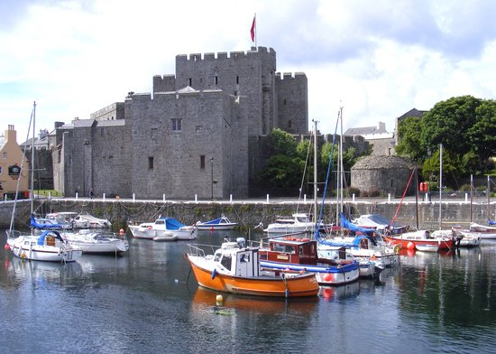 Île de Man, UK : Castletown