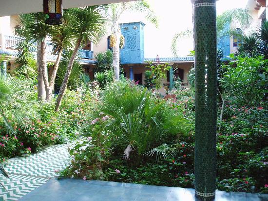 Villa Mandarine: the villa gardens
