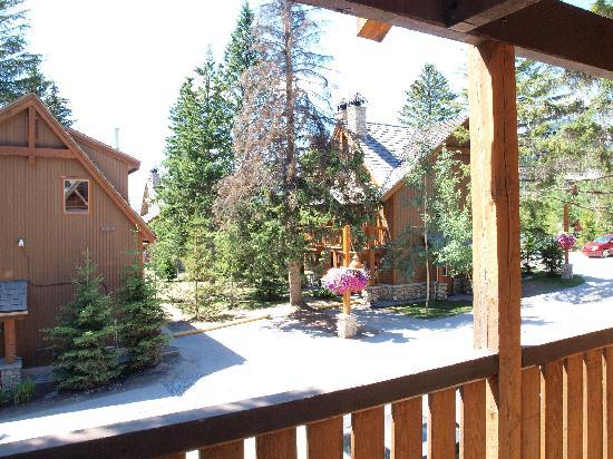 Hidden Ridge Resort : view from balcony