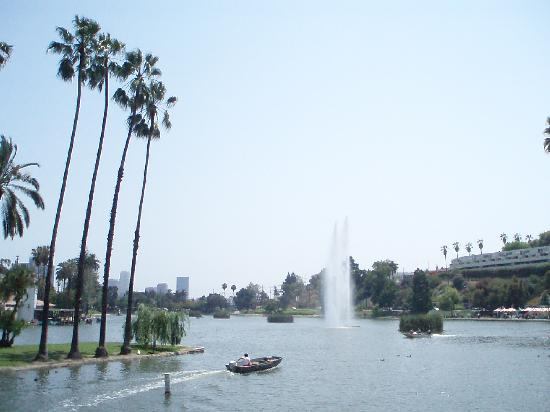 Echo Park : View of the lake