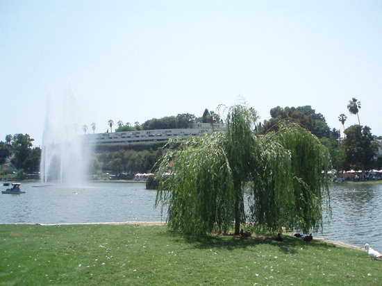 Echo Park: Another view of the lake