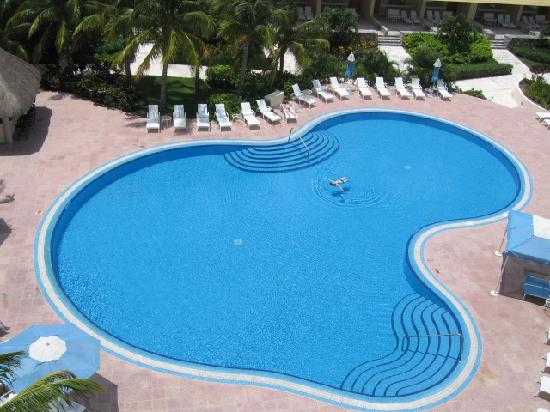Presidente Inter-Continental Cozumel Resort & Spa : Pool view from ocean suite
