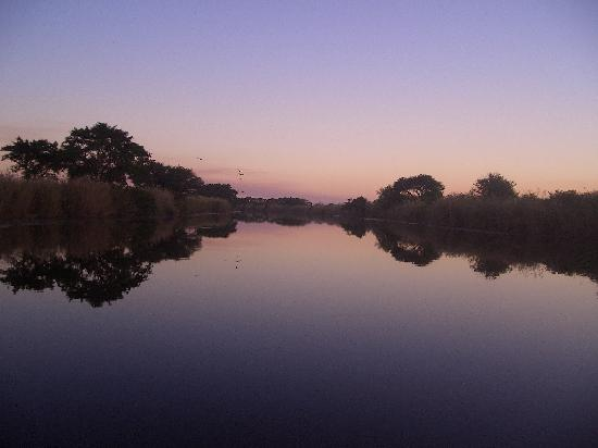 Bonamanzi Game Reserve: Boat trip