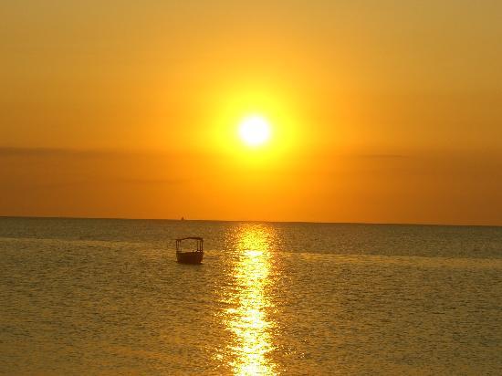 Nungwi, Tanzania: tramonto